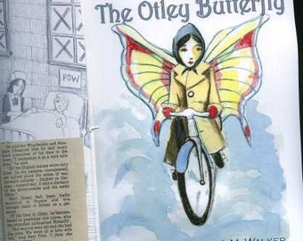 The Otley Butterfly - A True Story - Words Elizabeth JM Walker - Pictures Nicholas Beckett