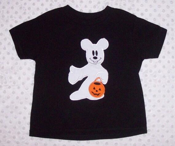 Mickey Mouse Ghost T-shirt Halloween Shirt Pumpkin Shirt