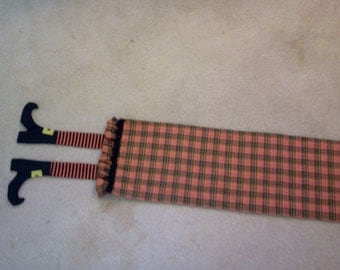 Table Runner With Witch Legs
