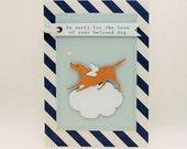 Pet Sympathy Card, Loss of Pet Card, Dog Sympathy Card