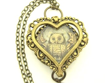 Owl   Heart    ... Steampunk