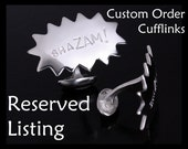Custom Cufflink Set - WoW and oOOFffT