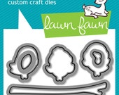 Lawn Fawn: Lawn Cuts Custom Craft Dies - winter sparrows