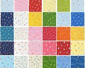 SALE Minny Muu Spring 2015 Origami Squares - 10 inch Squares - Lecien Japanese Fabric