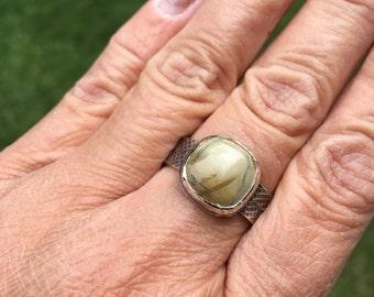 JUMA Jewelry - Mens Ring in Jasper  - From My Bench NEW