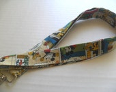 Mickey Mouse Lanyard - Fabric Lanyard - ID Badge Holder - Keychain - Badge Holder - Key Chain