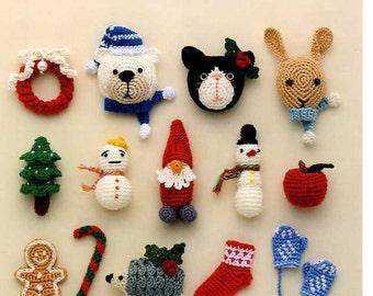 Handmade Winter Crochet Motifs - Japanese Craft Book