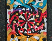 Tame Impala - Official Silkscreened Poster - Columbia, MD