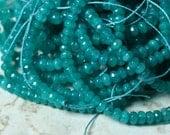Candy jade faceted rondelle 4mm lake blue, 36 pcs (item ID CJ4mRNB2P)