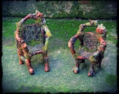 Elvin Twig Chair Miniatures Rustic Style