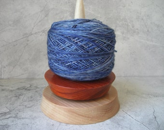 Knit Spinner (2 Wood) Beech and African coralwood