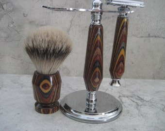 Wet Shaving Set (Dymondwood)