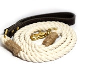 Rope Dog Leash - Cotton rope lead