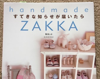 Japanese craft book Handmade Zakka le douvet doux NEW PRICE