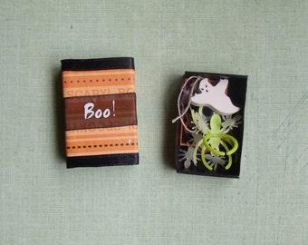 BOO Halloween Matchbox with Goodies