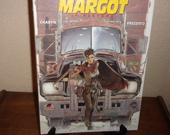 Margot In Badtown-Jerome Charyn HB Comic Book-1991