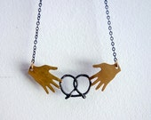 Pretzel Share Necklace
