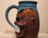 Beaver  Mug  ..............                                            e874