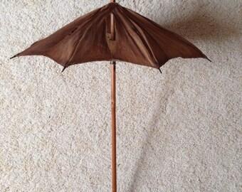 Doll's antique parasol