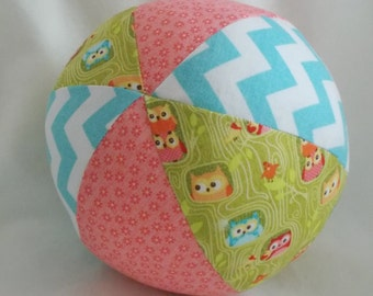 Green Flappers Boutique Ball Rattle Toy