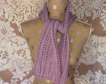 Scarf Women's Handknit Wool/Cashmere Scarf