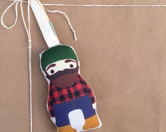 Lumberjack Ornament