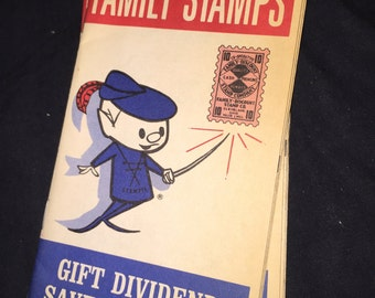 Family Stamps Saver Booklet