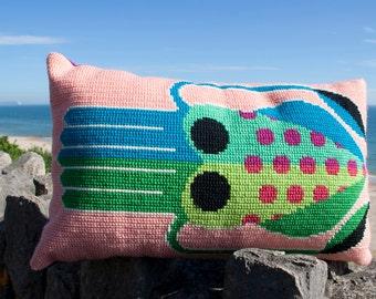 Jade the Squid cross stitch kit