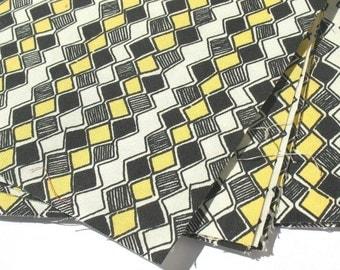 Honeycomb - IKEA Sebragras Cotton Fabric Quilting Charm Squares