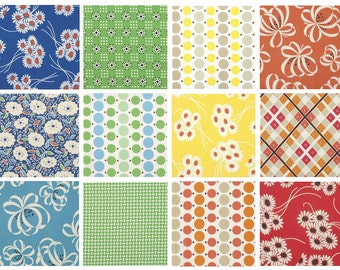 BUNDLE - Katie Jump Rope by Denyse Schmidt for FreeSpirit Fabrics