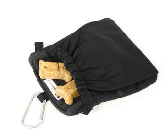 Dog Training Treat Bag Pocket 2.0 in Black