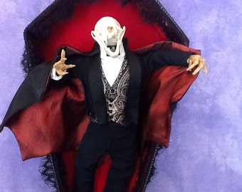 Dracula Vampire Mink taxidermy art - SALE