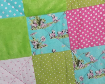 Baby Had a Little Lamb Baby Quilt