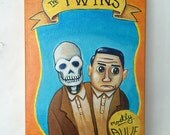 The Twins - Original Art by Kevin Kosmicki