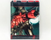 Sewn Comic Book Wallet - Deadpool Design 24