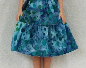 "11.5"" Fashion doll Clothes - dress and shoes"