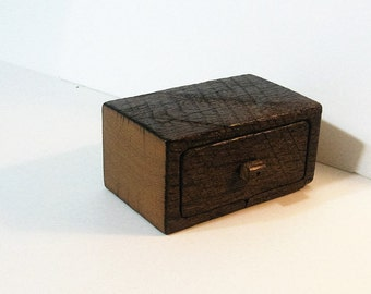 Barn Wood Treasure Box With Drawer And Secret Drawer
