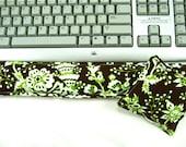 Computer Keyboard Wrist Support Set, Wrist Rest Support, Office Supplies, Geekery, Desk Set,Brown