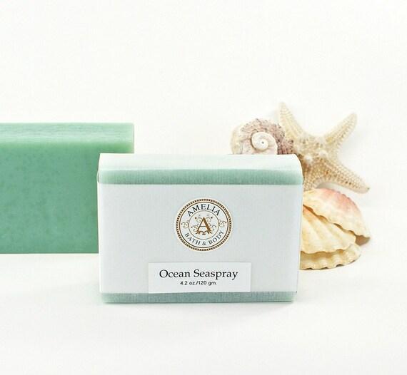 Ocean seaspray soap ocean air scent luxury beach soap for Bobbi brown beach soap