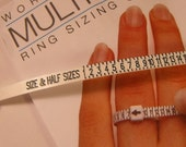 END of Year SALE One New Flexible Multisizer Ring Sizer