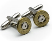 Cufflinks - Remington 45s Bullets
