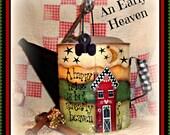 Apple Tree Cottage Original Design E Pattern - An Early Heaven