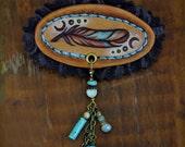 Pluma No. 2 - Mini Feather Pin