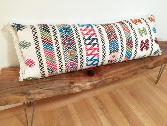 Long Decorative Lumbar Pillow : Long lumbar pillow