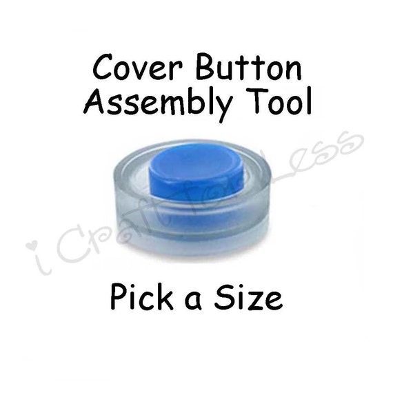 Cover Button Assembly Tool - Pick Size - SEE COUPON