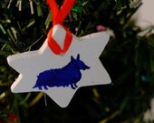 WINTER SALE Christmas Tree Ornament Decoration Dog