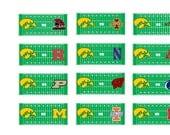 Iowa Hawkeye Game Day Planner Stickers