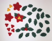 Tiny Felt Christmas Assortment