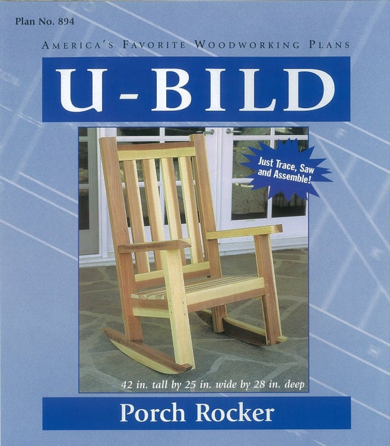 u bild porch rocker woodworking plans to by paulitransfers
