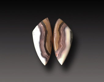 COYAMITO Agate Cabochon   Agate Designer Cab pair